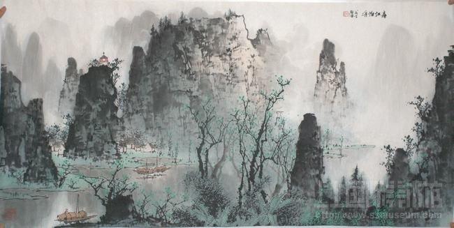 春江泊舟2008(戊子)